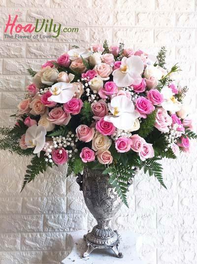 Bình hoa đẹp và sang trọng 1