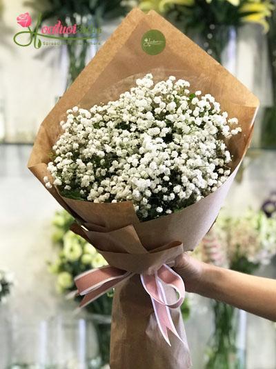 Bó hoa baby đẹp xinh