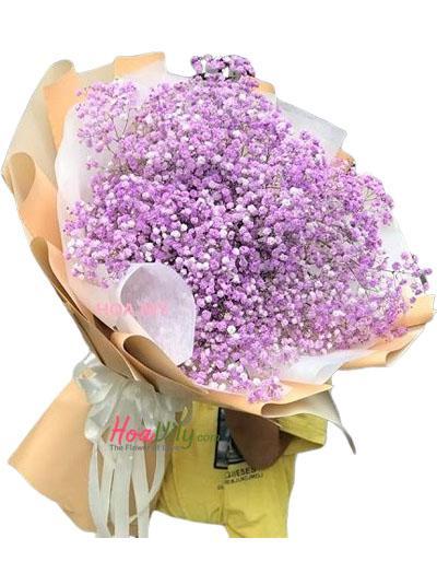 Bó hoa baby tím - Điều tuyệt vời