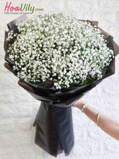 Bó hoa baby - Tình nồng cho em