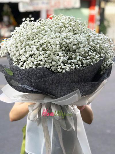 Bó hoa baby trắng - Điều tôi yêu