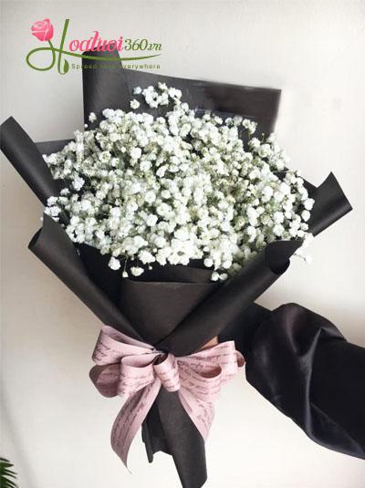Bó hoa baby- Vẻ đẹp mới lạ