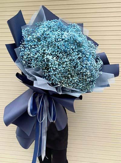 Bó hoa baby xanh - Mãi mãi một tình yêu