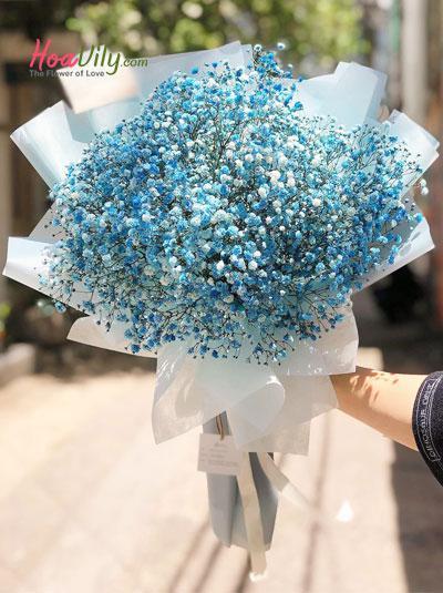 Bó hoa baby xanh - Silent