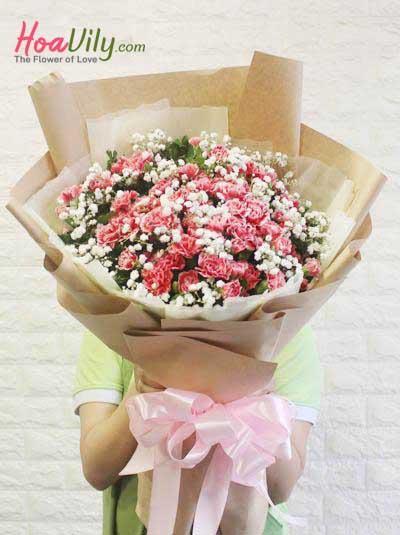 Bó hoa cẩm chướng - Điều ngọt ngào