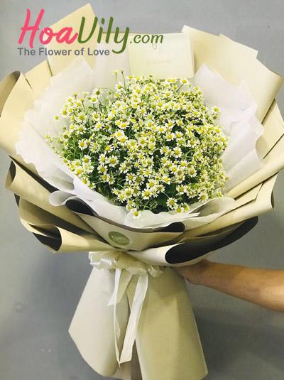 Bó hoa cúc Tana - Nắng vàng
