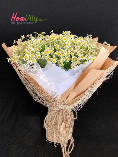 Bó hoa cúc tana - Phong cách tây