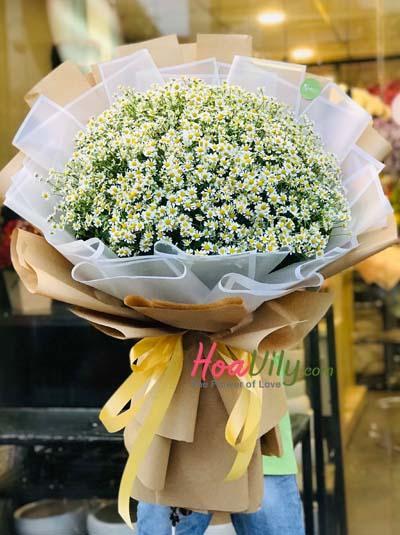 Bó hoa cúc tana - tình yêu lớn