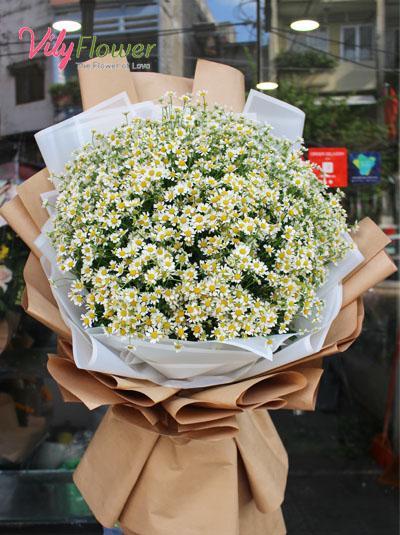 Bó hoa cúc tana - Vẻ đẹp thơ ngây