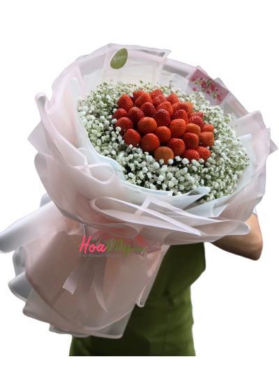 Bó hoa dâu tây - Cô con dâu tương lai