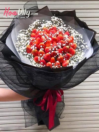 Bó hoa dâu tây - Sweet story