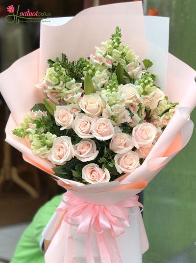 Bó hoa đẹp - Sự khởi sắc