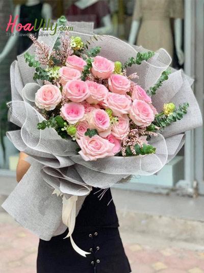 Bó hoa hồng cao cấp - Like you