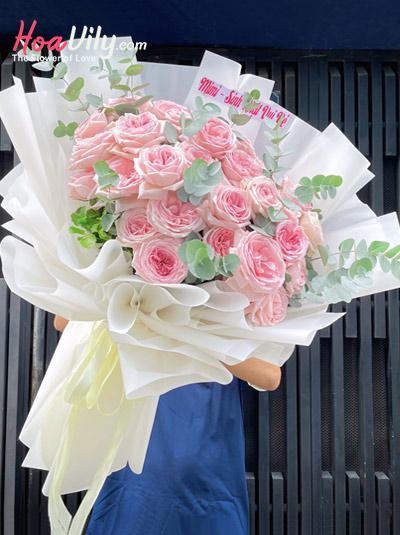 Bó hoa hồng cao cấp - Only one