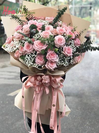 Bó hoa hồng cao cấp - Pride