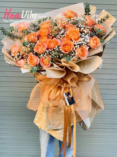 Bó hoa hồng Ecuador - Falling for you