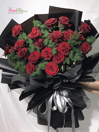Bó hoa hồng Ecuador - Ngày em đến
