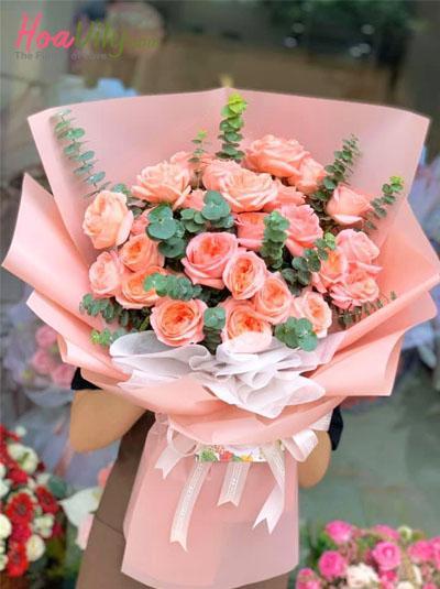 Bó hoa hồng Juliet đẹp nhất