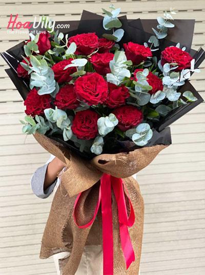 Bó Hoa hồng Ohara cao cấp