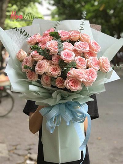 Bó hoa hồng Ohara - Hẹn Ước
