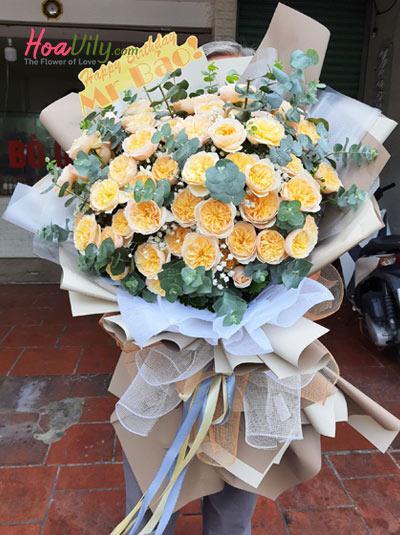 Bó hoa hồng Ohara - Lời hứa