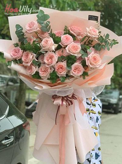 Bó hoa hồng Ohara - Tình trong mộng