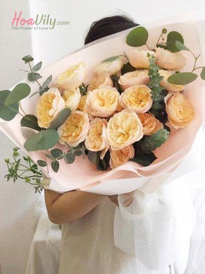 Bó hoa hồng - Quý cô Juliet