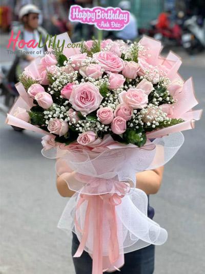 Bó hoa hồng - Trót yêu