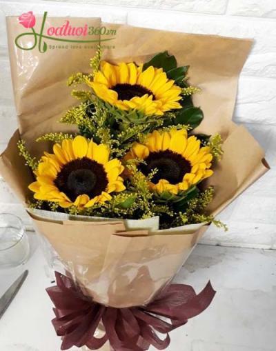Bó hoa hướng dương- Điều đơn giản