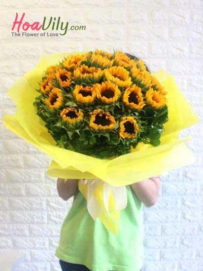 Bó hoa hướng dương - Khát vọng