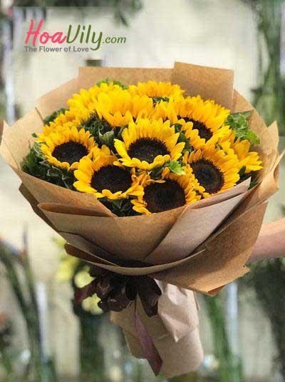 Bó hoa hướng dương- Tỏa nắng