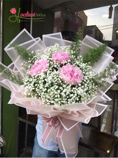Tặng hoa sinh nhật cho mẹ yêu