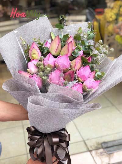 Bó hoa sen - Thầm nhớ