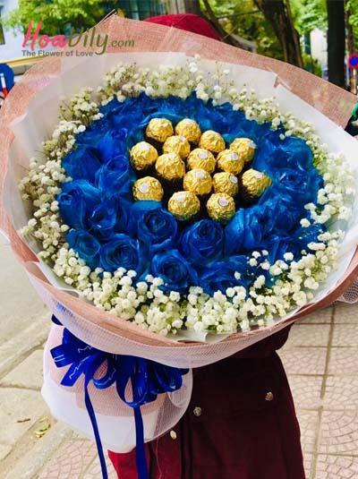 Bó hoa tình yêu ngọt ngào vĩnh củu