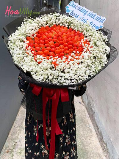 Bó hoa trái cây - Loving