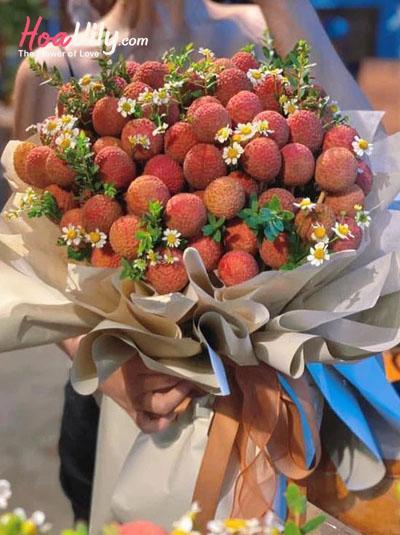 Bó hoa vải thiều - Big love