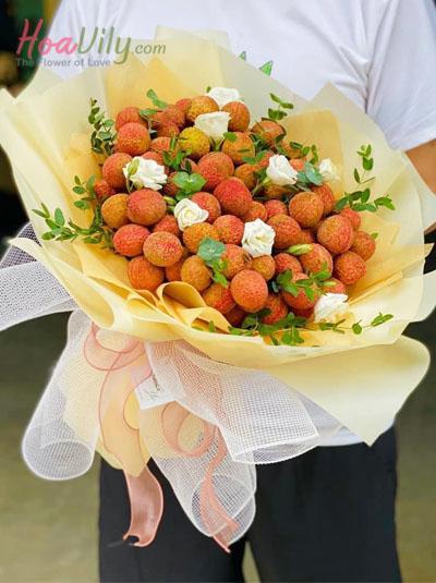 Bó hoa vải thiểu- Big suprise