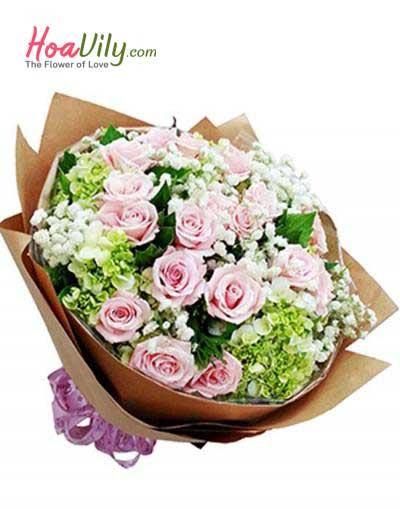 Bó hoa vip 01- Tình yêu là thế