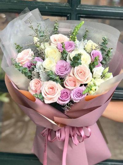 Bó hoa xinh - Nét yêu kiều
