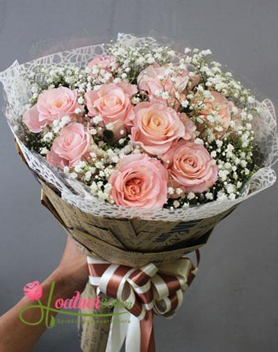 Bó hồng Ecuador ngọt ngào