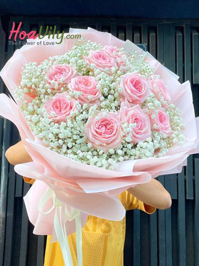 Bó hồng Ecuador - Sweetheart