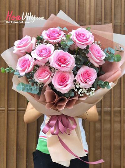 Bó hồng Ecuador  - Thẩn thờ
