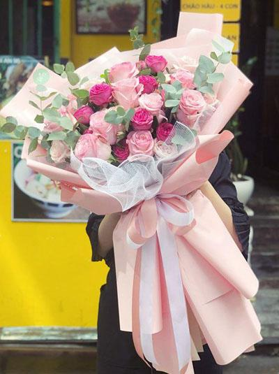 Bó hồng Ecuador - Vì yêu