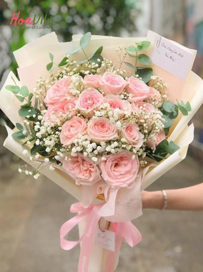 Bó hồng Ohara xinh xắn