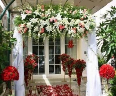 Cổng hoa cưới 07_Hoa Tươi 360