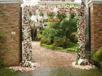 Cổng hoa cưới 09_Hoa Tươi 360