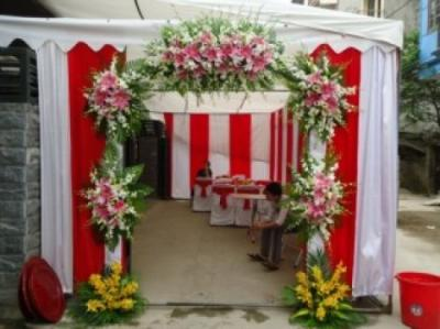 Cổng hoa cưới 12_Hoa Tươi 360