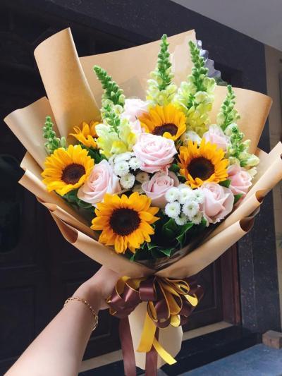 Bó hoa Hạnh phúc vẹn tròn