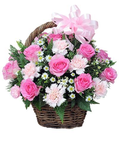 Giỏ hoa sinh nhật- Điều giản dị