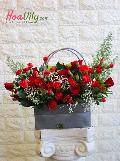 Hoa 20-11: Sắc đỏ tặng Thầy